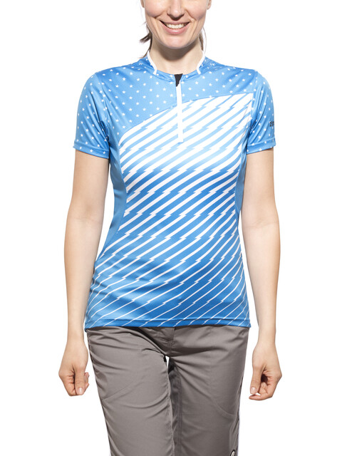 Zimtstern Becca Bike Jersey SS Women dodger blue